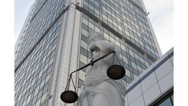 Статуя богини правосудия Фемиды
