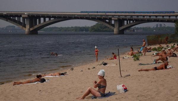 Пляжи в Киеве