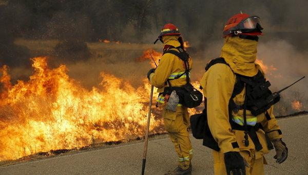 Пожарные США. Архивное фото