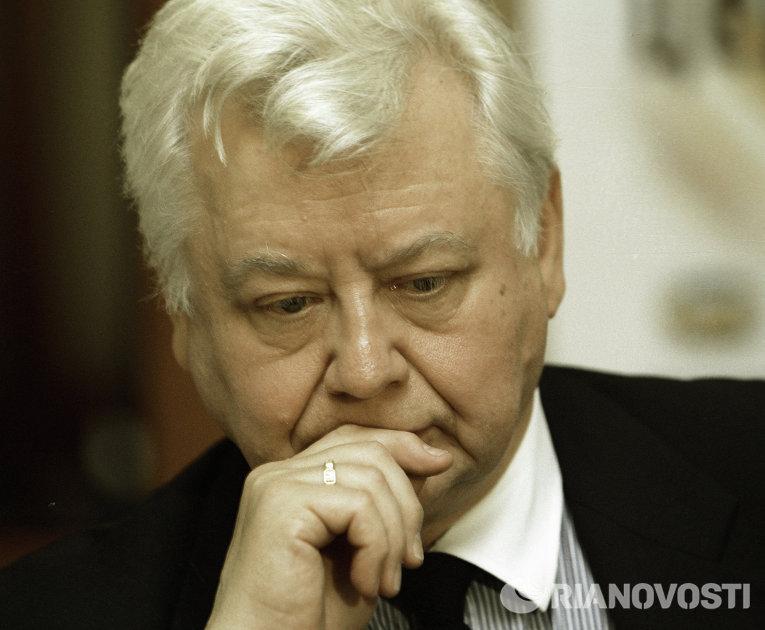Народный артист СССР Табаков
