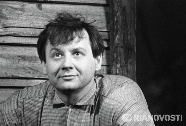 Актер театра и кино, народный артист СССР Олег Павлович Табаков