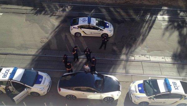Инцидент в Киеве с водителем Бэнтли