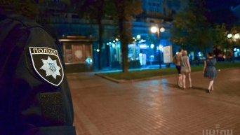 Ночное патрулирование Киева