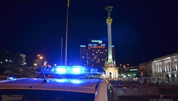 Ночное патрулирование Киева. Архивное фото