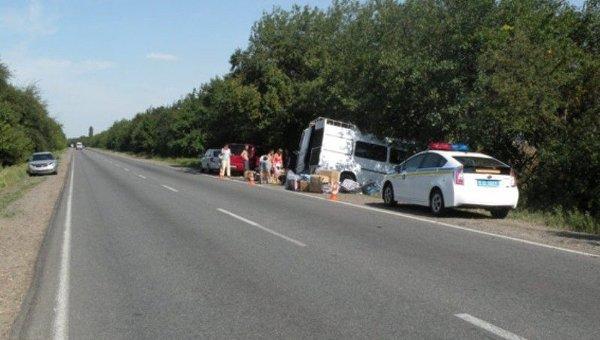 В ДТП на трассе Одесса-Мелитополь пострадали 8 человек