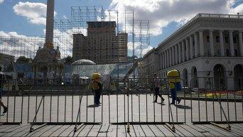 Киев готовится к празднованию Дня независимости