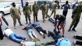 Активисты разгромили в Харькове подпольное казино
