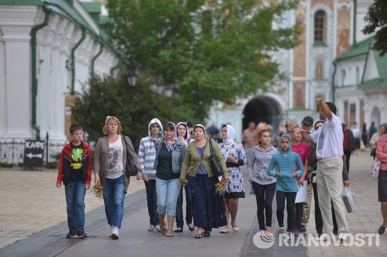 Яблочный спас в Киеве