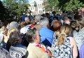 Давка во время гуляний в Санкт-Петербурге. Видео