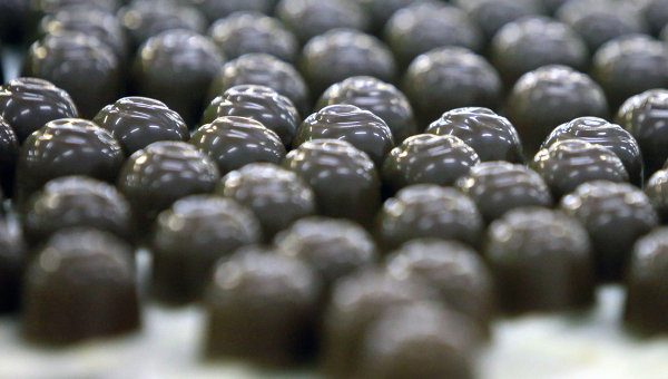 Выпуск шоколадных конфет