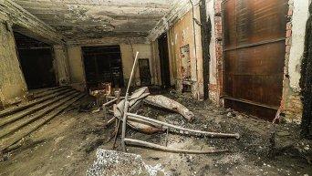 Как выглядит одесский Дом профсоюзов изнутри