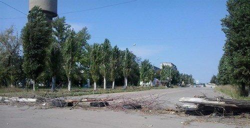 Разрушения в Первомайске Луганской области