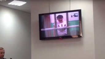 Савченко на суде: спасибо за поддержку, Украина победит. Видео