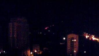Ночной бой в Донецком аэропорту. Видео