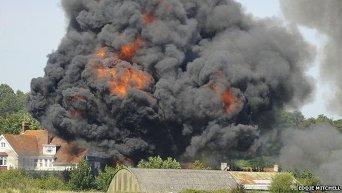 Крушение самолета в Великобритании