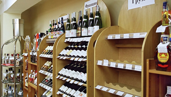 Торговля вином в РФ