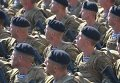 Украинские военнослужащие на марше
