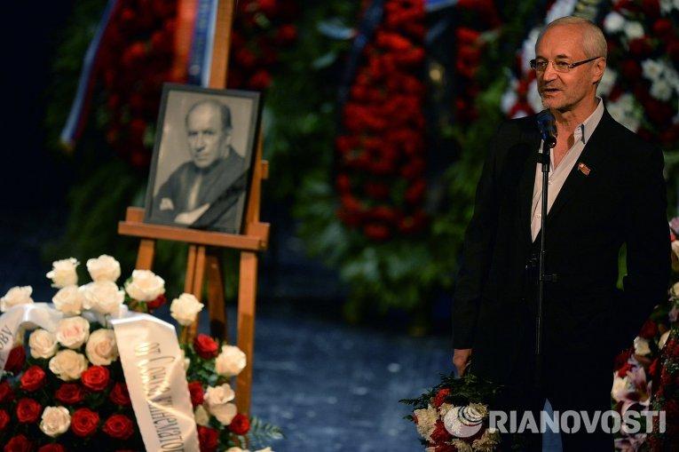 Прощание с актером Львом Дуровым