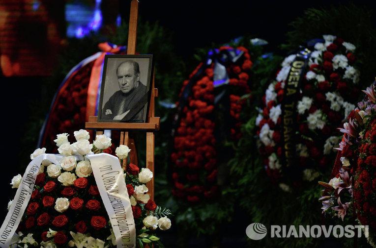 Прощание с актером и режиссером Львом Дуровым