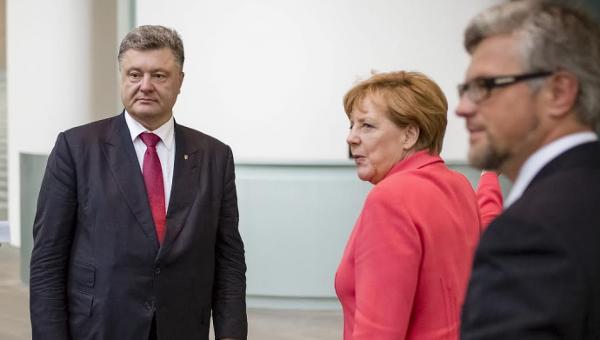 Порошенко планирует переговоры с Меркель
