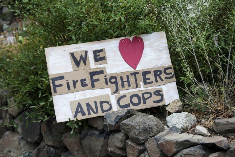 Последствия пожаров в штате Вашингтон (США)