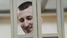 Александр Кольченко во время оглашения приговора