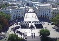 Присяга патрульной полиции Одессы. Видео