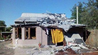Обстрел мирных населенных пунктов Донецка