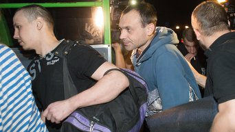 Обмен пленными в Донецкой области