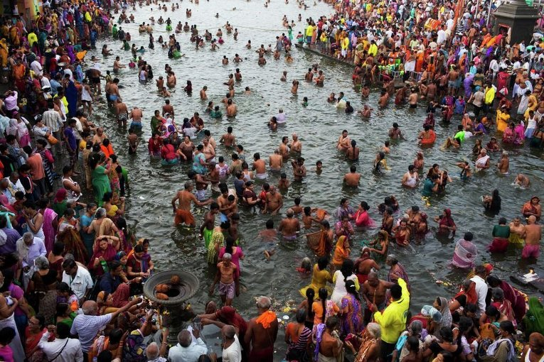 Праздник кувшина в Индии