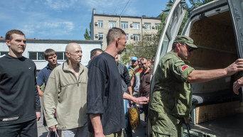 ДНР передала Киеву пленных силовиков