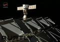 Отстыковка корабля Союз от МКС в ручном режиме. Видео