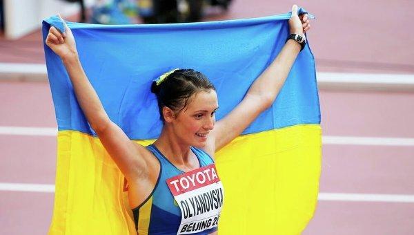 Украинская легкоатлетка Людмила Оляновская. Архивное фото