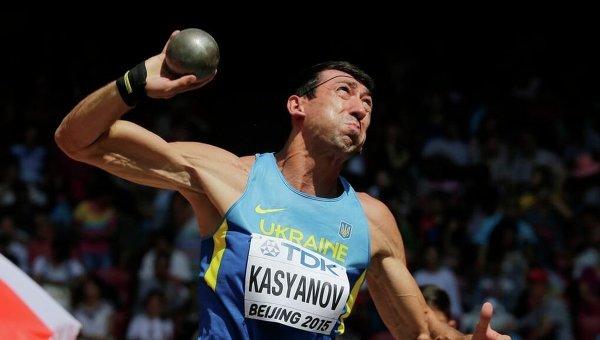 Украинский десятиборец Алексей Касьянов. Архивное фото