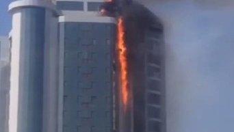 В Одессе горит ЖК Гагарин Плаза