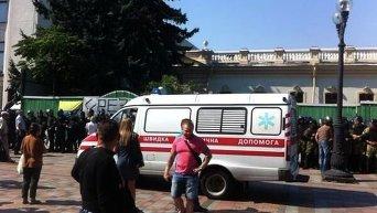 Раненые и пострадавшие при столкновениях под Радой