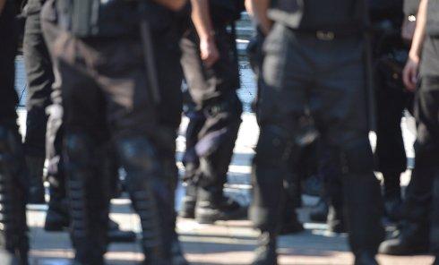 Эксперты МВД на месте столкновений под Радой