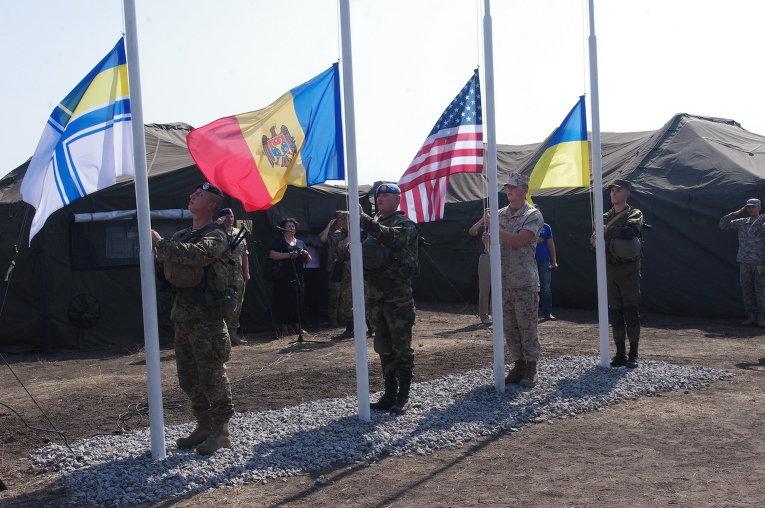 В Николаевской области стартовали военно-морские учения Sea Breeze-2015