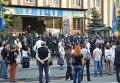 Свободовцы пикетируют Голосеевский райотдел милиции