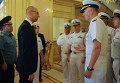 Яценюк открыл многонациональные военные учения Sea Breeze-2015 в Одессе
