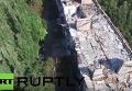 Разрушения в Донецке: съемка с беспилотника. Видео