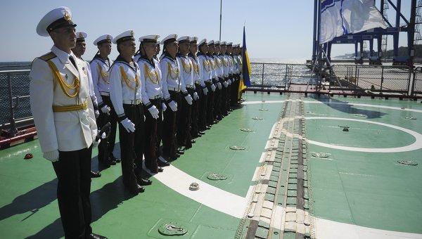 Украинские моряки на учениях Sea Breeze