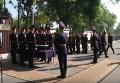 Церемония прощания с погибшим под Радой бойцом Нацгвардии. Видео