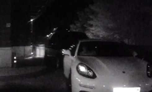 Пьяный дебош футболистов Шахтера на Porsche в Киеве. Видео