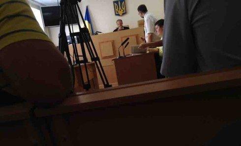 Суд над участниками беспорядков под Верховной Радой