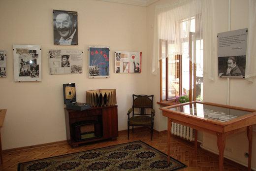 В Одессе открыт музей-квартира Леонида Утесова