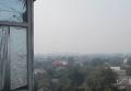 Столичный дым от пожара добрался до Черкасс. Видео