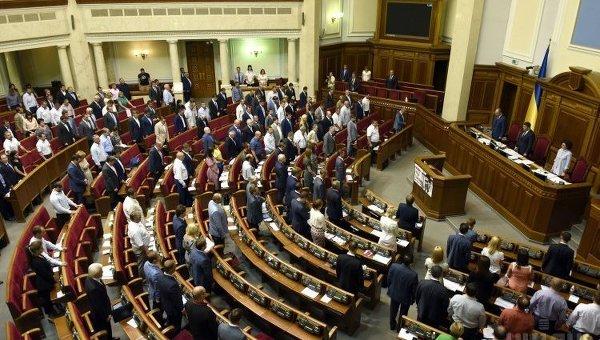 Заседание Верховной Рады 3 сентября 2015 г.