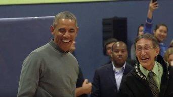 Обама станцевал на Аляске