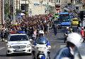 Марш мигрантов на границе с Австрией